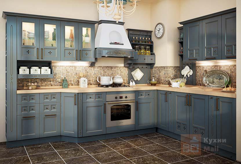 Кухня Пирог с голубикой