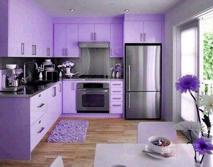Кухня Цветущий лен
