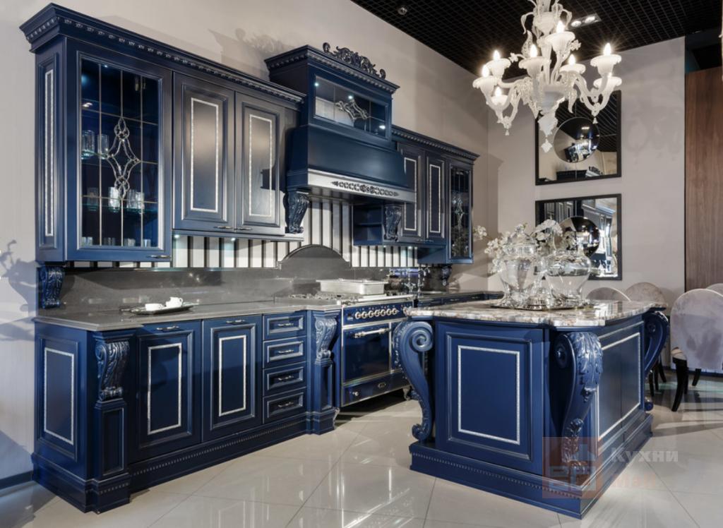 Кухня Синий сансет