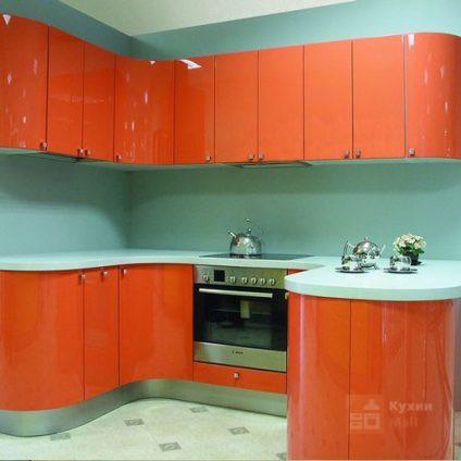 Кухня Оранжевое небо