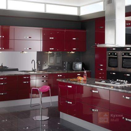 Кухня Пламенная лилия