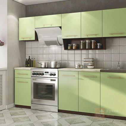 Кухня Зеленый мох